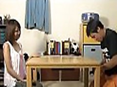 Asian mother plays with penis
