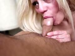 Sexy Barbie Blaze gives a Deepthroat Blow Job
