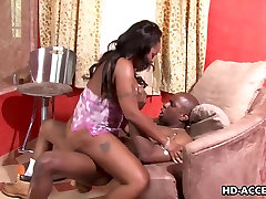 Ebony Kitten Hunter hardcore black sex