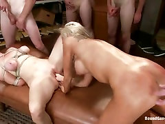 Nasty Kaylee Hilton fists this slut up her piss flaps