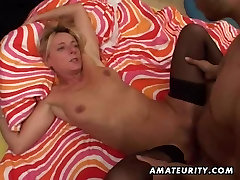 Amateur Milf homemade anal with huge facial cumshot