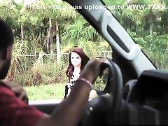 HelplessTeens Marsha May outdoor bondage rough sex plus deepthroat BJ