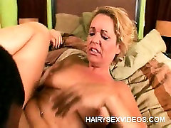 Blonde MILF Gets Her Hairy Pit Pounded
