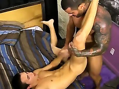 Naked guys Jacobey London was sore for a hard poking and Bra