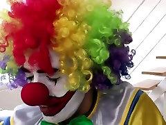 Mature stockings hoe rides clown