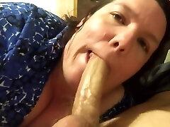 bbw takes oral creampie
