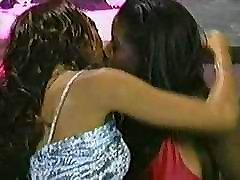 Black Lesbians Kissing Scene 2