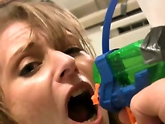 Piss slut training bdsm with naughty pissing