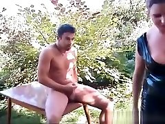 Outdoor soma vabi xxx vedeo action where guy and girl
