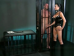 YouPorn - bdsm-xxx-male-muscular-subs-are-teased-by-horny-dominant-mistress
