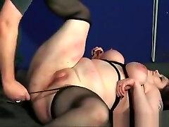 Cruel bbw bdsm and humiliating domination of tit tormented amateur