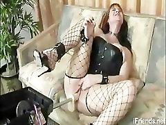 Fucking Machine and Black Stockings