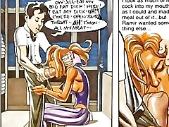 Tanned Huge Breast Horny Sex Comic