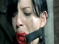 BDSM Slave Elise Graves Chained Whipped Electro Tortured Impaled