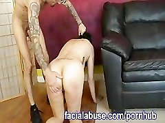 Asian Has A Hard Time With Rough Sex