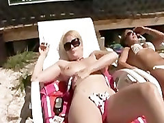 Naked Sunbathing at Florida Beach House Part 2