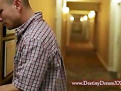 Destiny Dream fucks Mr. Pete Destiny Dreamxxx