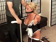 Veronica Stone heavy black sex Smg dancing bear pink skirt Bondage Slave Femdom Domination