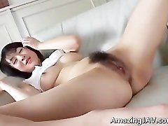 Sexy asian girl masturbating her pussy part4