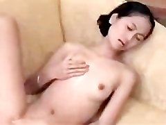 Asian Girlfriend Messes With A Vibrator part2