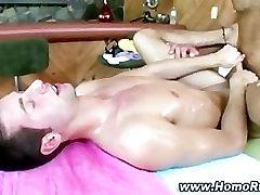 Gay muscley bear fucks straight guy