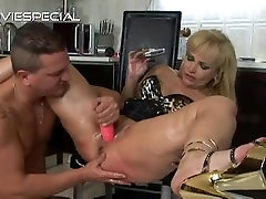 Mature MILF gets asshole fucked part3