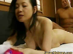 Japanese mature lady is in for some hot part2