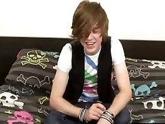 Cute teenage emo wanking his dick part6