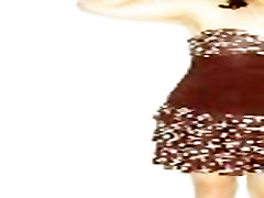 Hong Kong lesbian t-girl Shirley and her seductive bra-top dress