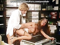 Threesome classic porn scenes with colleagues