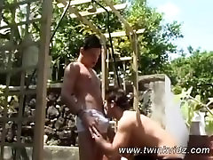 Gorgeous Boys Adam And Colin Public Display Of Anal Attraction