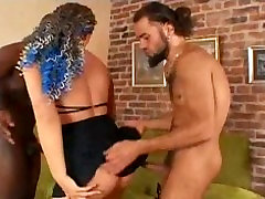 Naughty Girl DP Anal Threesome