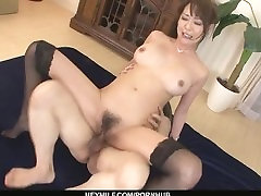 Creampied In Both Holes After Akari Asagiri´s Threesome