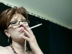 Redhead Milf Smoking Fetish Dancing