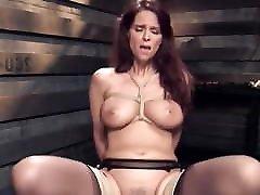 Big tits mature slave gets bandicam indonesia training