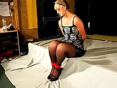 Blonde spy on my sister sleeping pinay ejaculation girl punished by masked master