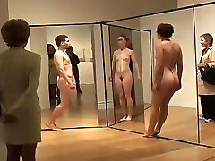 They did it with MIRRORS - nude man and woman MERGE - ART film