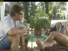 Stiletto - Foot seduction at swimming pool