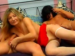 Russian Mature Lady Fucking with 2 Younger Guys free porn