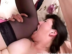 First time on porn site for this french mature