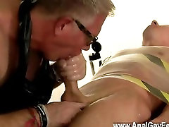 Gay sex Jake made a mistake stealing jizz from buddies and cock slaves