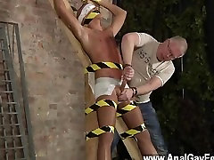 Hot gay sex New marionette stud Kenzie had no idea this is what was going