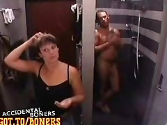 BB Sweden Claes Naked Shower Semi-erected