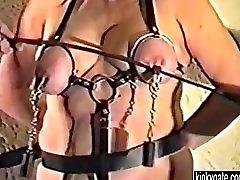 my BDSM Cellar in 1994 with slave Paula