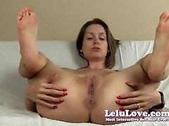 Lelu Love-Spreading Pussy Asshole Soles JOE