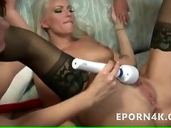 Hot lesbians orgy in library busty milf