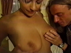 Hot blonde Deanna Baldwin Sexy big titted blonde Deanna Baldwin enjoys cock