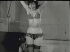 Betty Page Tied Up And Spanked bdsm bondage slave femdom domination