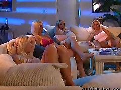 Horny Blonde Lesbian HottieS Bumping Twats lesbian girl on girl lesbians