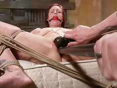 Tied up bdsm fetish bondage whore